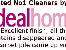 Voted No,1 Cleaners by Ideal Home